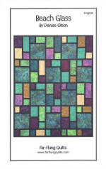 Beach Glass Quilt Pattern  (click to enlarge)
