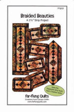 Braided Beauties Table Runner Pattern  (click to enlarge)