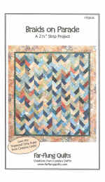 Braids On Parade Quilt Pattern  (click to enlarge)