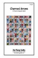 Charmed Arrows Quilt Pattern  (click to enlarge)
