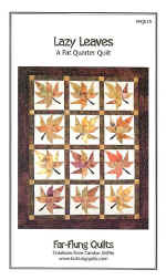 Lazy Leaves Quilt Pattern  (click to enlarge)
