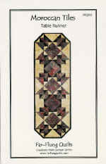 Moroccan Tiles Runner Pattern  (click to enlarge)