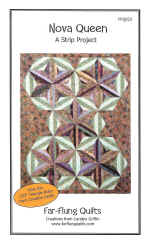 Nova Queen Quilt Pattern  (click to enlarge)