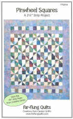Pinwheel Squares Quilt Pattern  (click to enlarge)