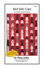 Red Solo Cups Quilt Pattern  (click to enlarge)