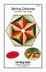 Skirting Christmas Tree Skirt Pattern  (click to enlarge)