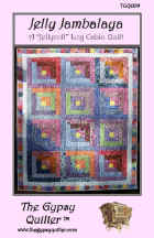 Jelly Jambalaya Quilt Pattern  (click to enlarge)